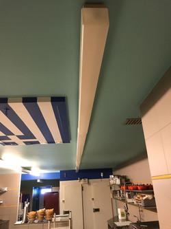 Relightning restaurant keuken