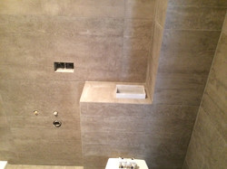 Tegels in douche