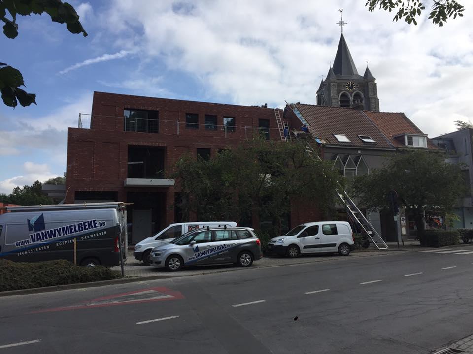 dakwerken nieuwbouw residentie d'heulebeeck