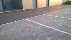Gullegem, Aanleg parking bureel