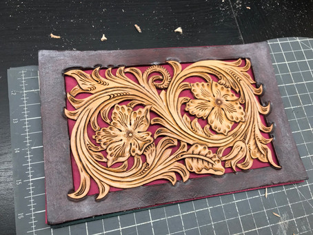 Leather Filigree - How I do it and What to Use