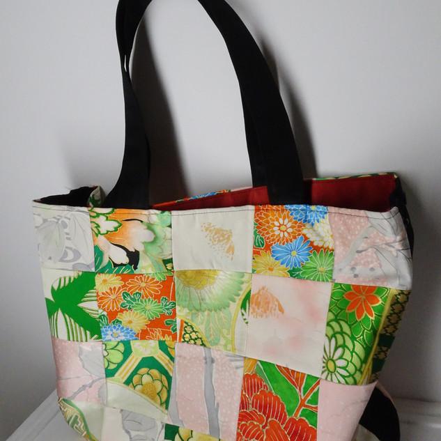 Kimono patch Tote bag