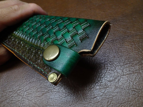 Custom made Japanese Saya, Leather sheath,30cm +