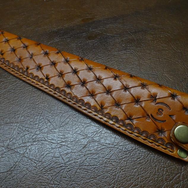 apanese saya, leather sheath, upholstery