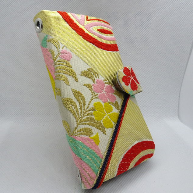 Obi Phone case wallet, kimono, universal fit