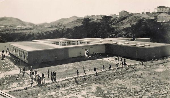 Holy Family School 1960