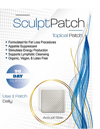 SculptPatch - 90 Day Supply