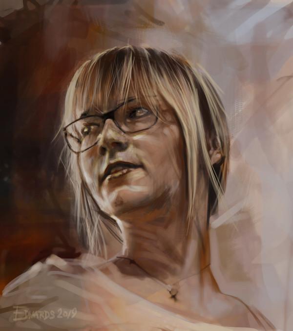 Portrait of Wiktoria
