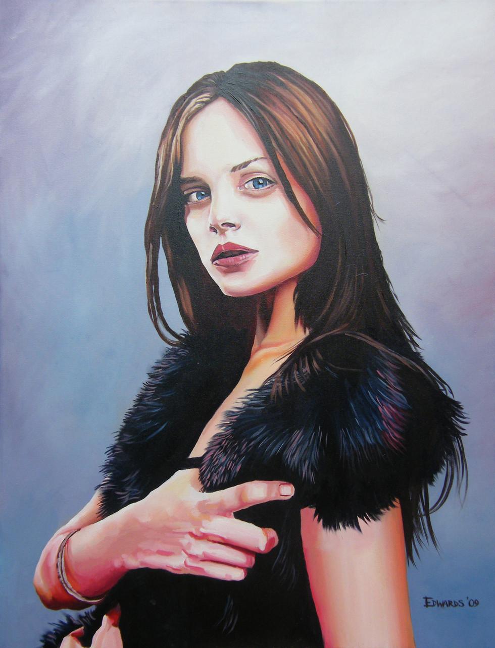Portrait of Mena