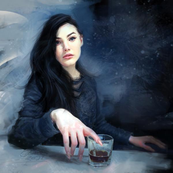 Portrait of Lidiia #3