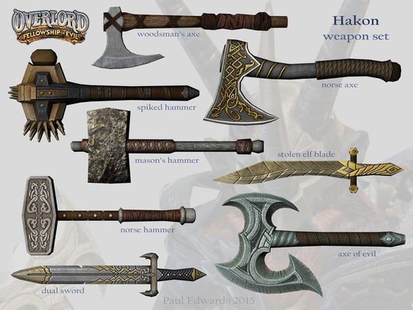 Hakon Weapons