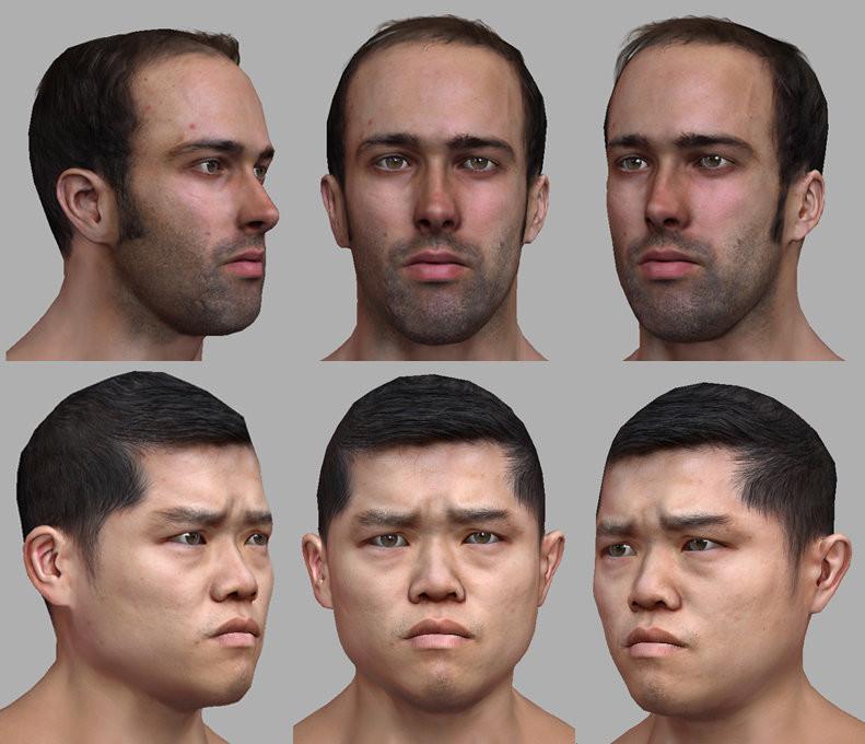 F1 Faces