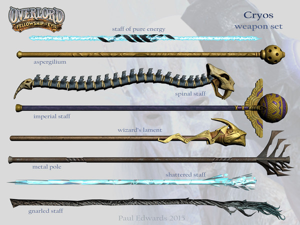 Cryos Weapons
