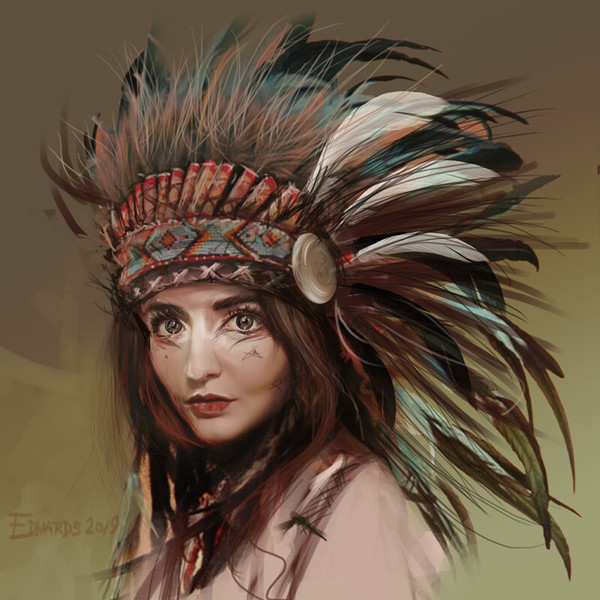 Study for skin, hair & feathers