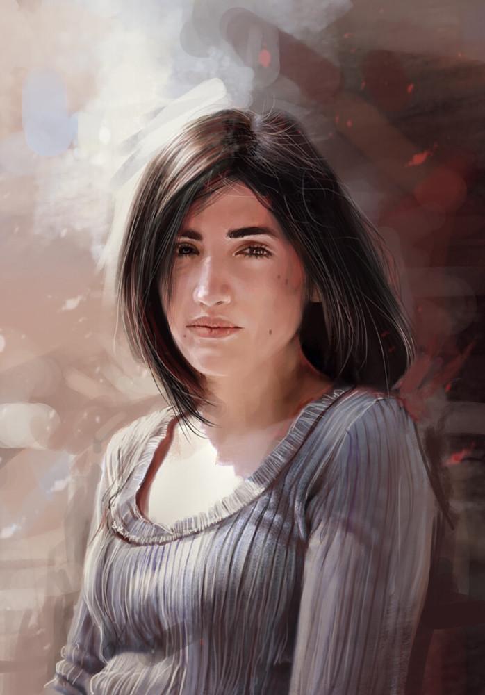 Portrait of Panagiota