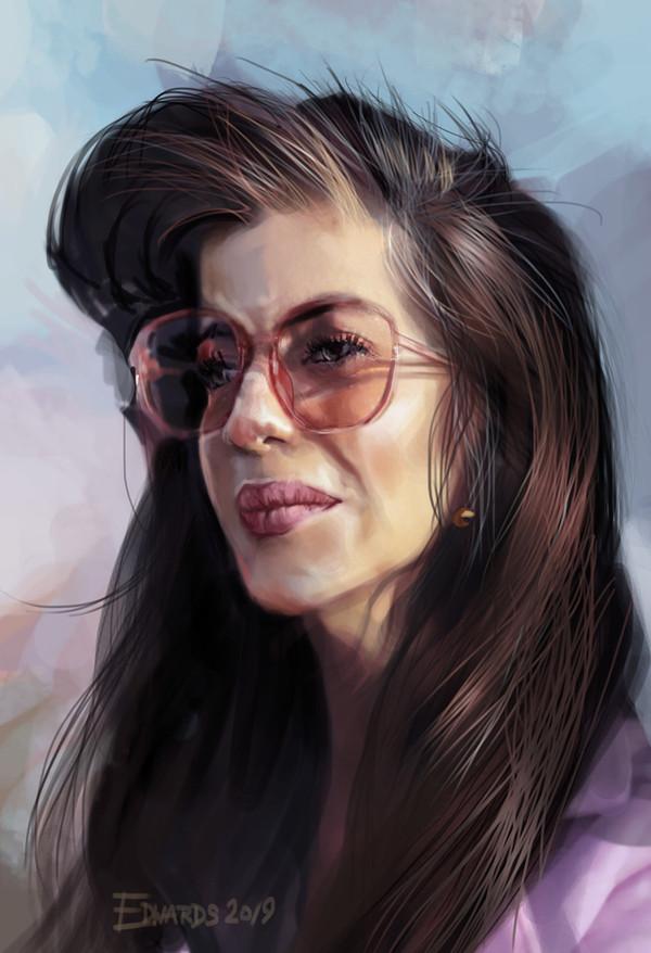 Portrait of Sally Morgan-Moore