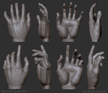hand sculpt sketch