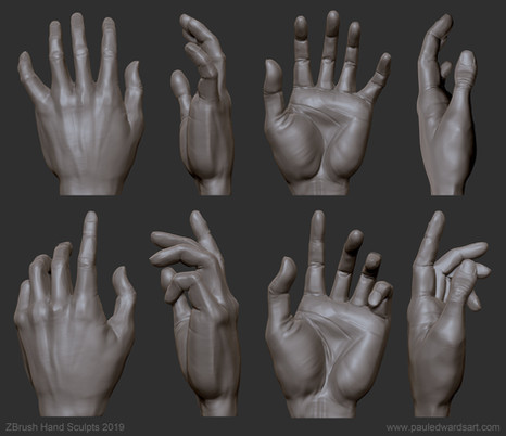 hand sculpt sketch