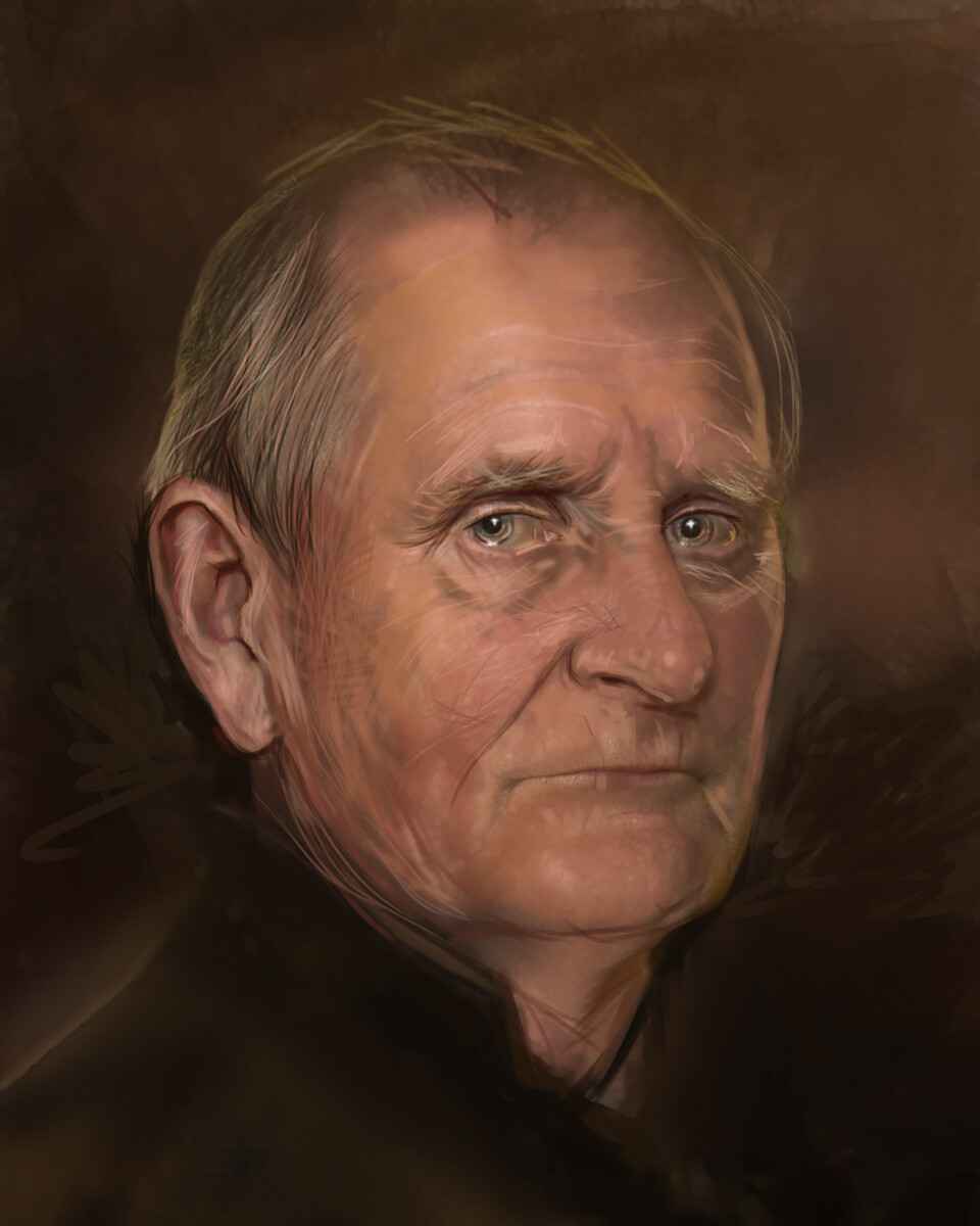 Portrait of Arnold Hurley