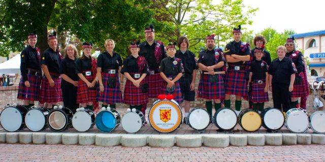 Drumline Portrait 2009