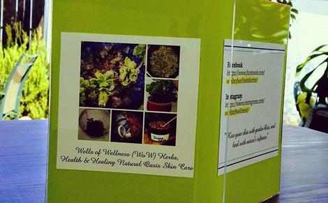 Wells Of Wellness Herbs Health & Healing Garden Oasis