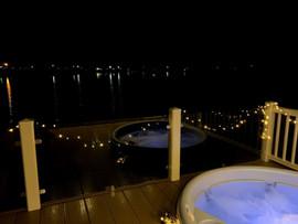 Night Time Hot Tub