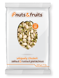 Salted & roasted pistachio 200 gr/7 oz