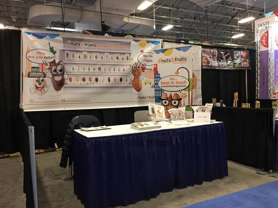 We are ready KosherFest 2016 Booth #409  Visit our website: WWW.PNUTSANDFRUITS.ORG Click here to contact : pnutsandfruits@gmail.com — feeling ready at Meadowlands Exposition Center.