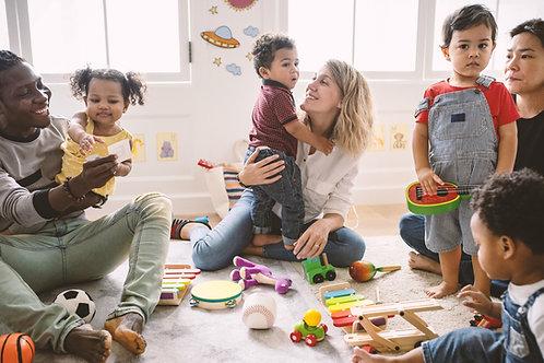QCM CAP AEPE - EP1-T1/3  - les sphères de développement des enfants 3-6 ans