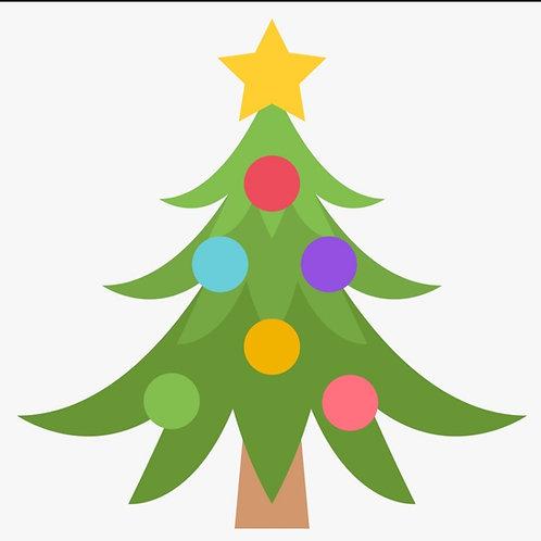 Modèle FICHE EP1 CAP AEPE ACTIVITÉ CRÈCHE décoration d'un sapin playmaïs Noel