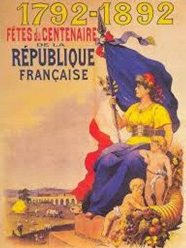 CAP - Thème 1 Histoire la France de la Révolution à la V° République