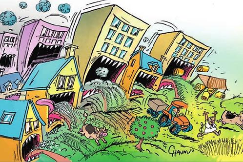 CAP - Thème 4  Géographie : Espaces Urbains : la ville dévoreuse d'espace