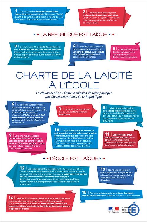 CAP -EMC 4 - LIBERTÉ ET DÉMOCRATIE : la charte de la laïcité école