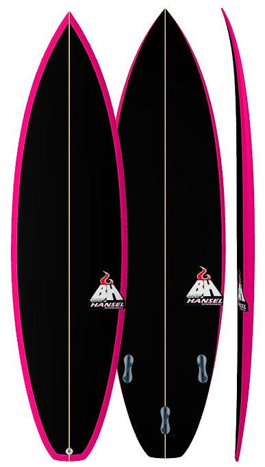 New Hammer Bali Custom Surfboards Bruce Hansel