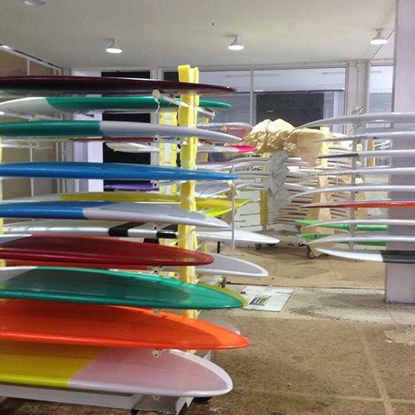 Bruce Hansel Surfboards Bali