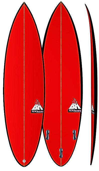 NewUlu Shooter Bali Custom Surfboards Bruce Hansel