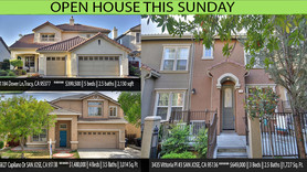 Open houses at 3 locations Jun 7th