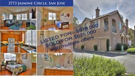 3773 JASMINE CIR San Jose SOLD FOR 625K