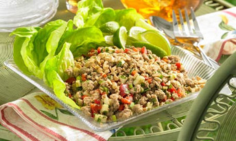 Pork and Beef Larb