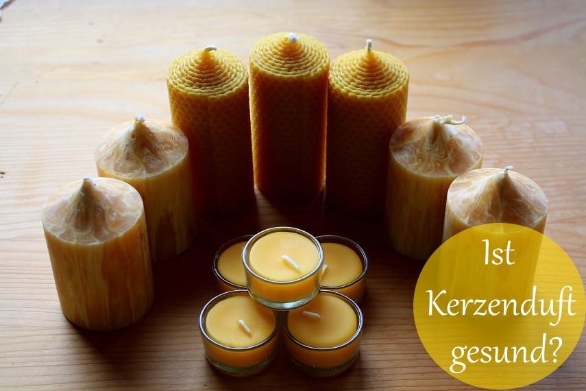 gesunde Kerzen aus Bienenwachs