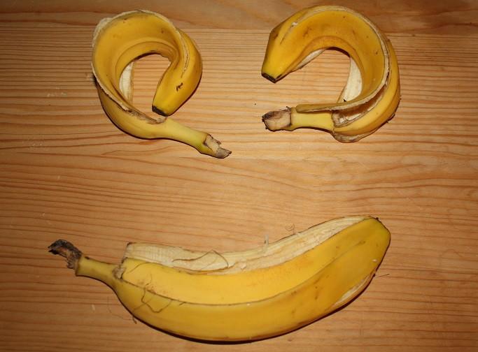 Was tun mit Bananenschalen