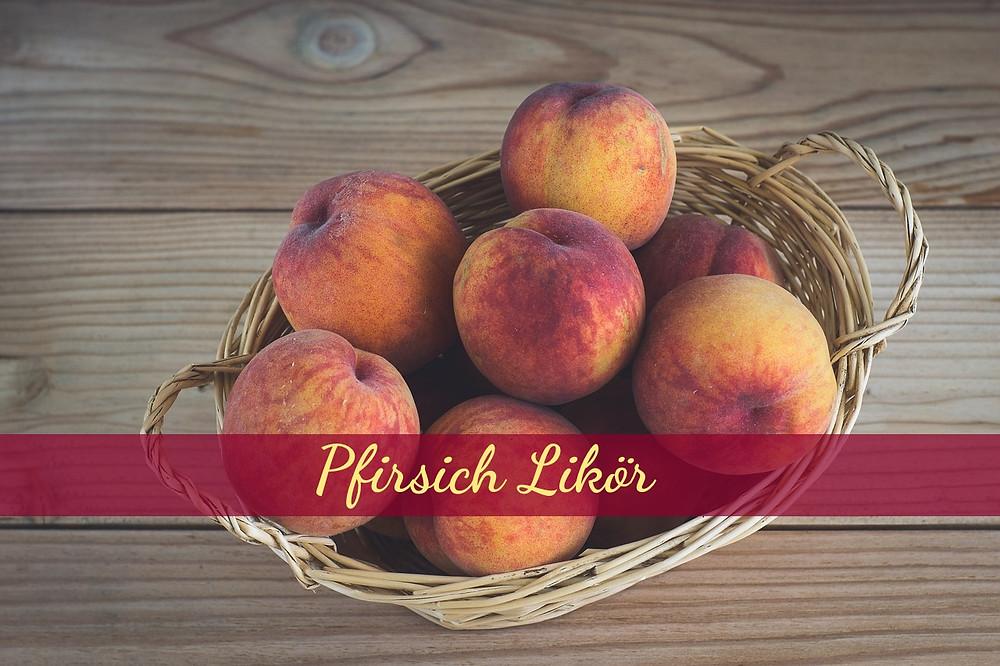 leckere reife Pfirsiche wollen verarbeitet werden