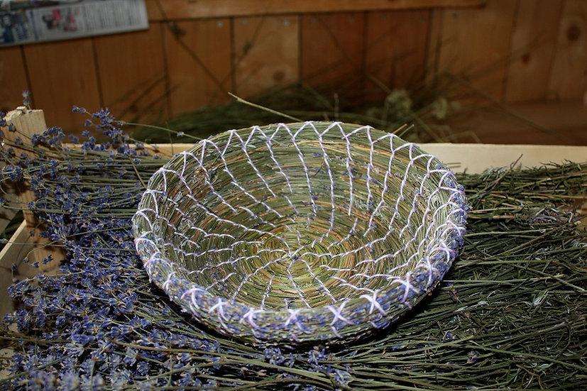 Korb Lavendelblüte