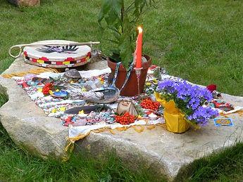 Altar zum Lammas Fest