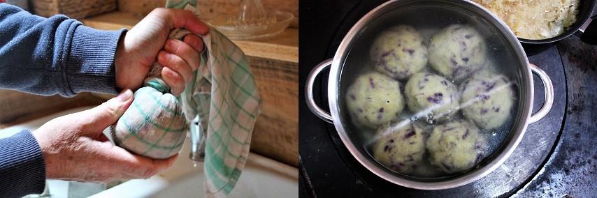 nicht schrecken, ich habe violette Kartoffeln dazu genommen :)