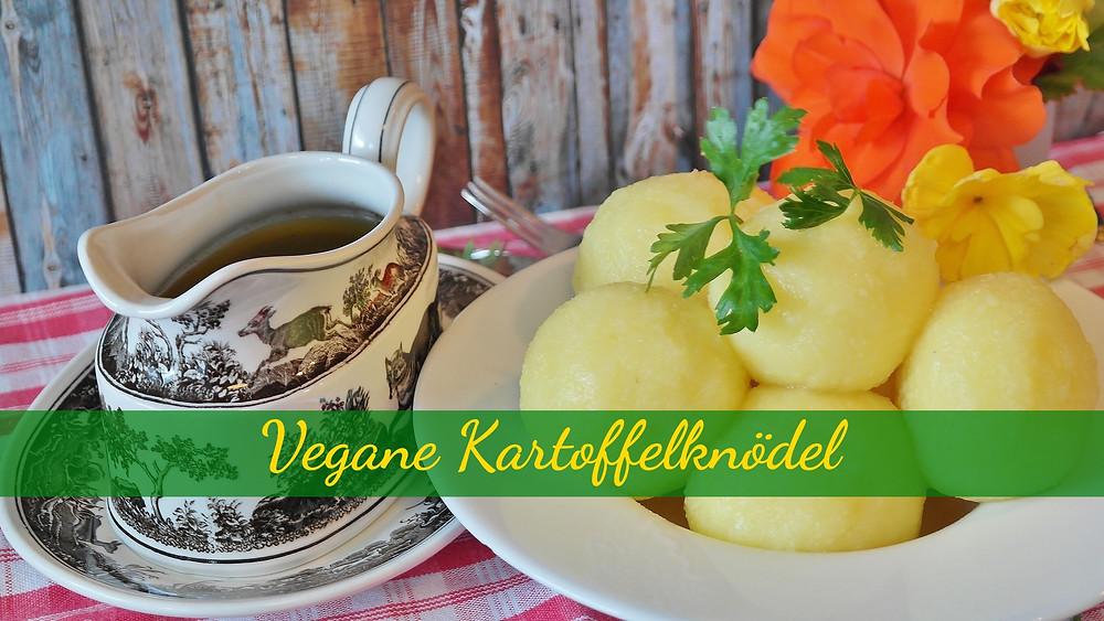 Traditionelle Kartoffelknödel aus meiner Heimat