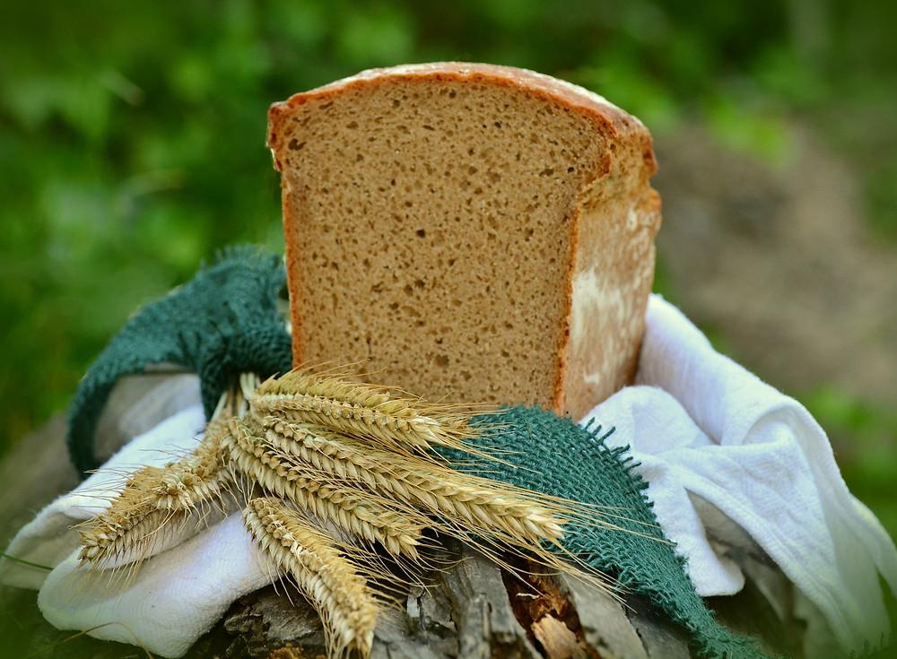 Das heilige Brot, dass du Lammas verehrt wird