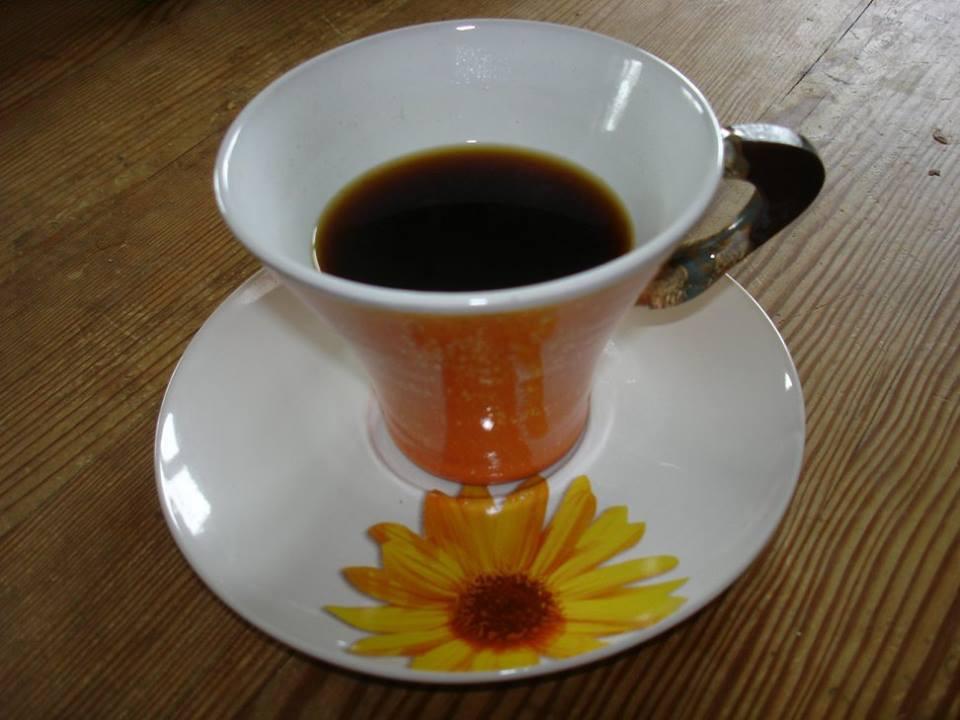 Sieht aus wie echter Kaffee