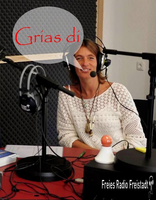 Ich - im Studio vom freien Radio Freistadt