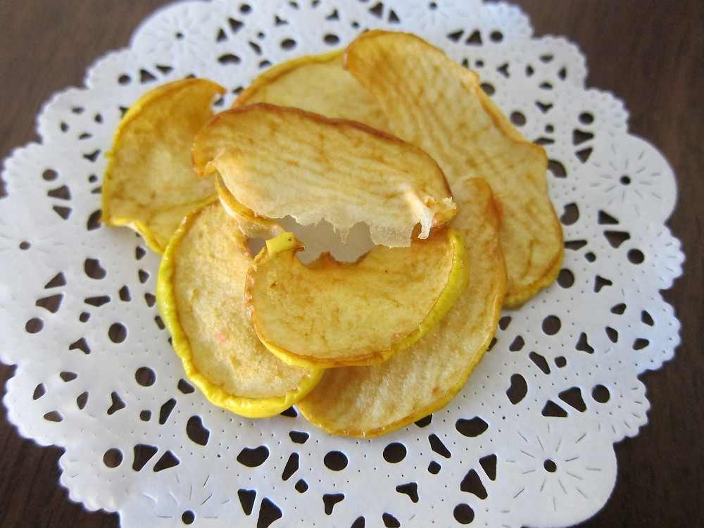 Auch frittierte Früchte schmecken hervorragend